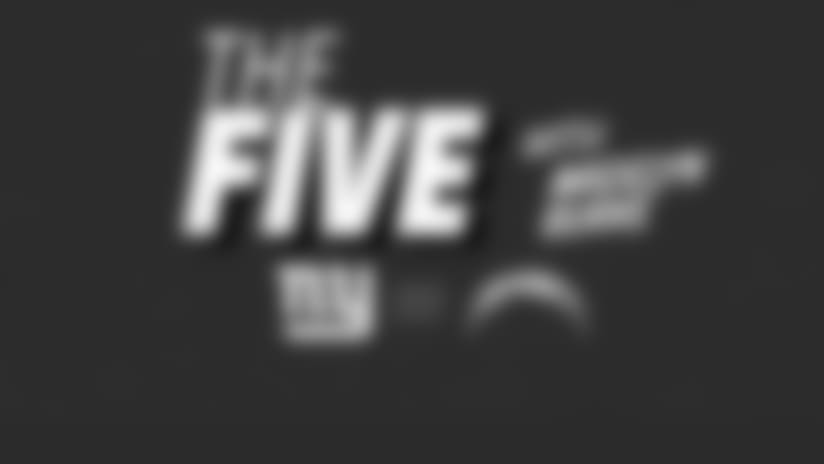 """The Five "" What you need to know about NYG-LAC"