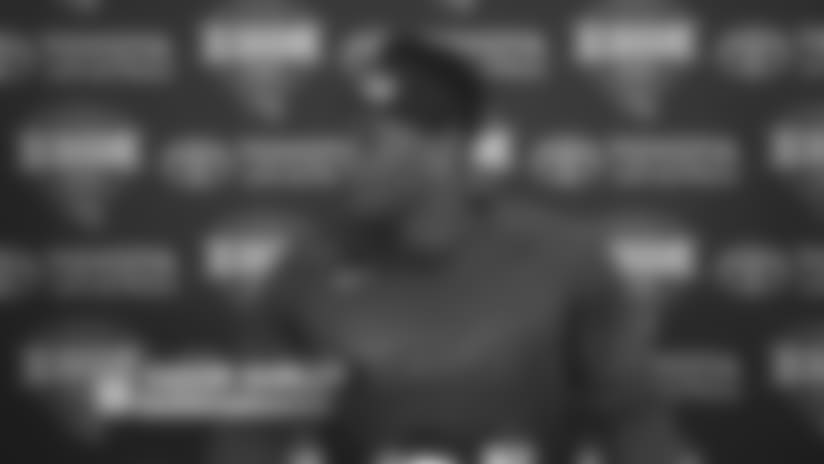 RB Saquon Barkley on preseason goals