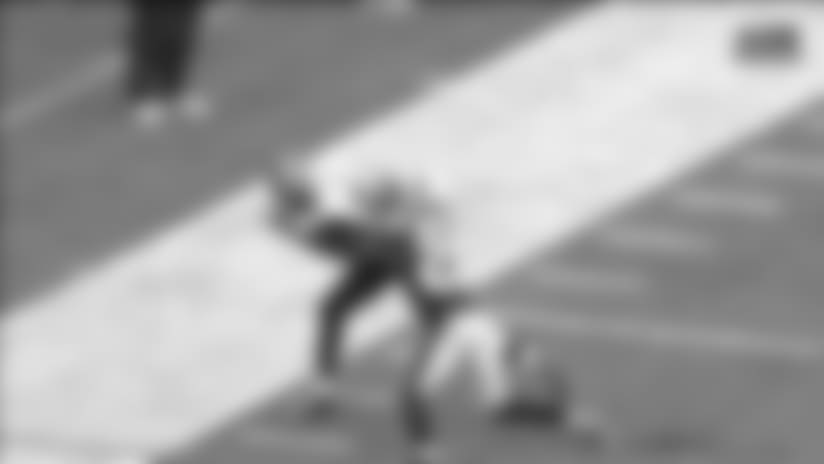 Can't-Miss Play: Jacksonville Jaguars wide receiver Keelan Cole contorts body for absurd toe-tap grab