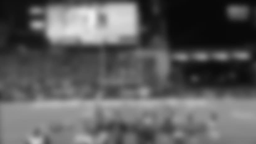 Jacksonville Jaguars kicker Josh Lambo's 43-yard FG splits the uprights to put Jags up two possessions