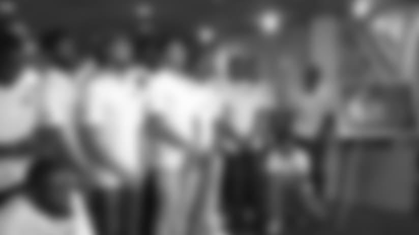 Rookies tour recording studio with Motown history