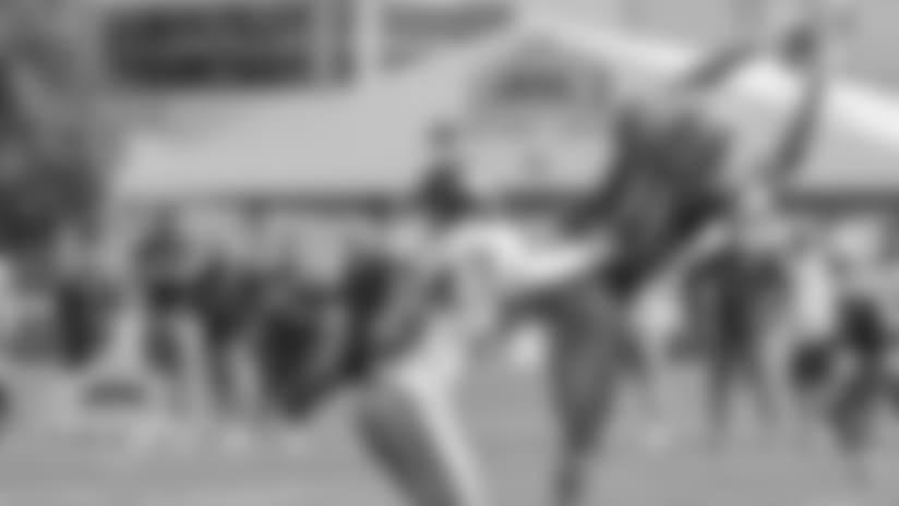 Watch highlights of WR Marvin Jones Jr. through the first thirteen days of training camp.