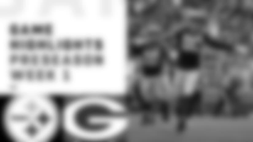 Steelers vs. Packers game highlights   Preseason Week 2