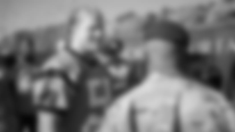 Watch: Panthers visit Fort Bragg