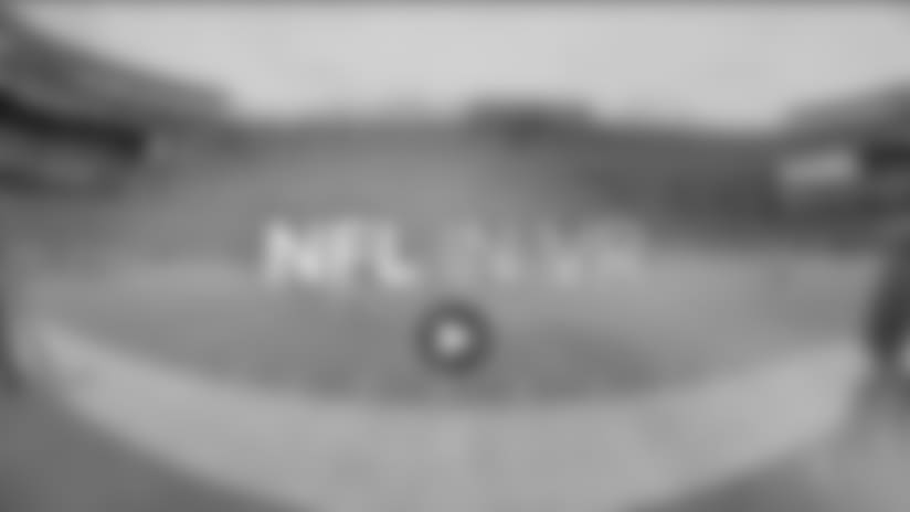 The NFL and NextVR last season created a series of postgame experiences available on demand. Source: NextVR