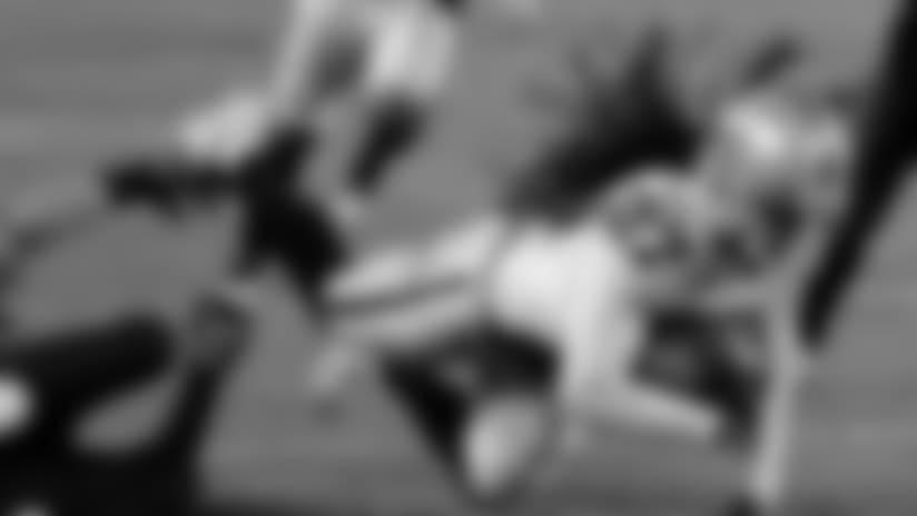 Reggie Nelson Intercepts Foles After Ball Bounces Off Ertz's Hands