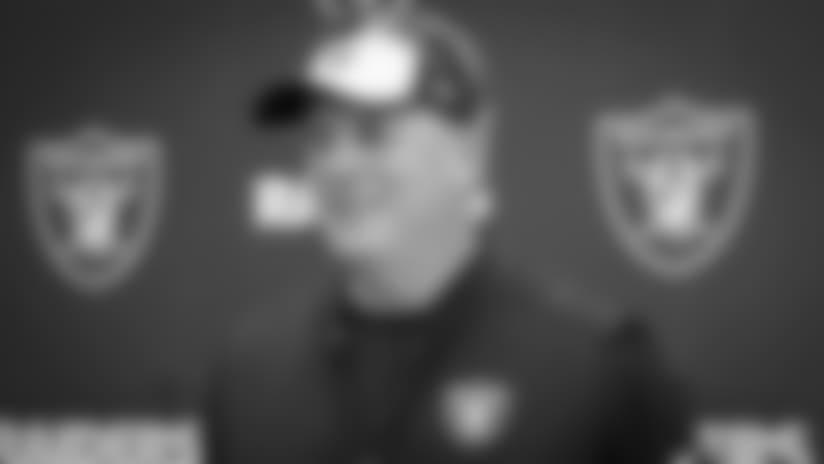 Head Coach Jack Del Rio Wraps Friday's Practice