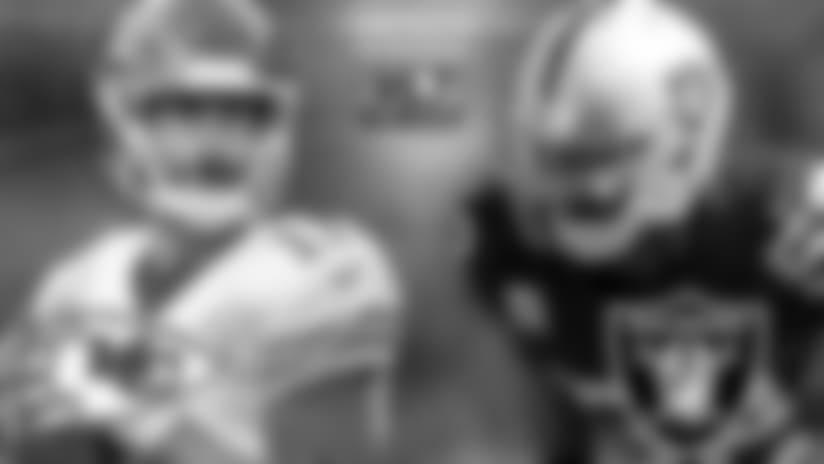 Raiders Disputarán Liderato en Kansas City