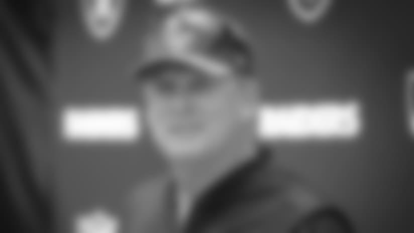 Head Coach Jack Del Rio Wraps Up Thursday's Practice
