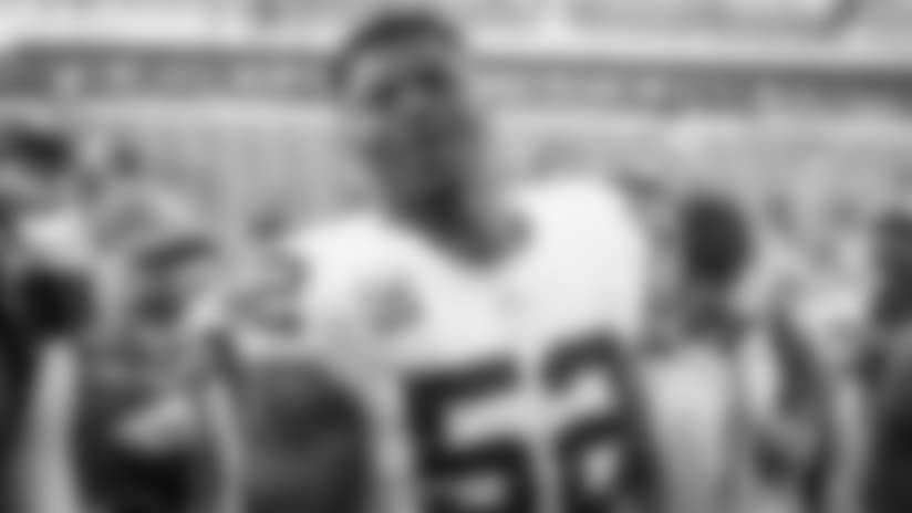 Defensive End Khalil Mack Has High School Jersey Retired