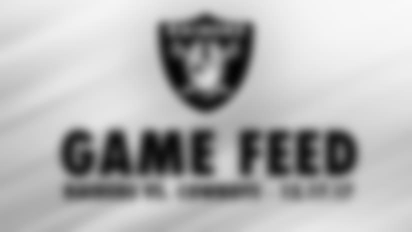 Game Feed: Week 15 vs. Cowboys