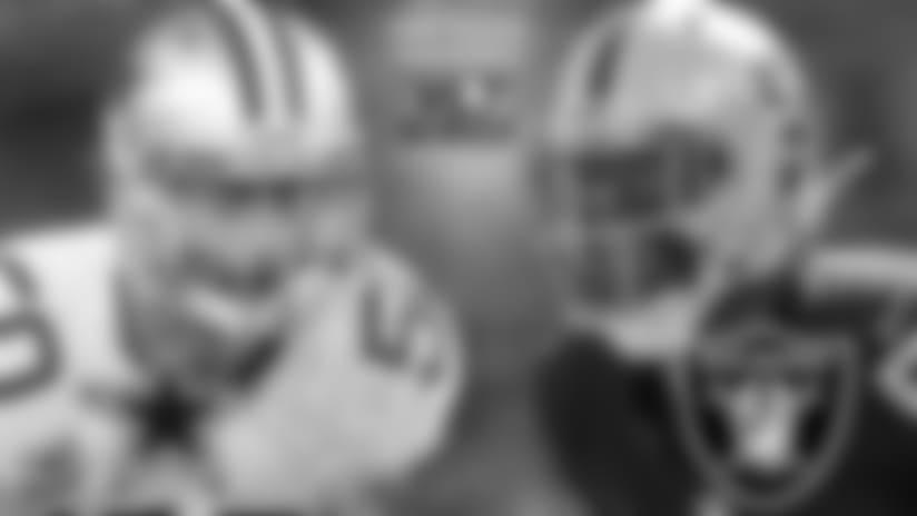Raiders en Horario Estelar Contra los Dallas Cowboys