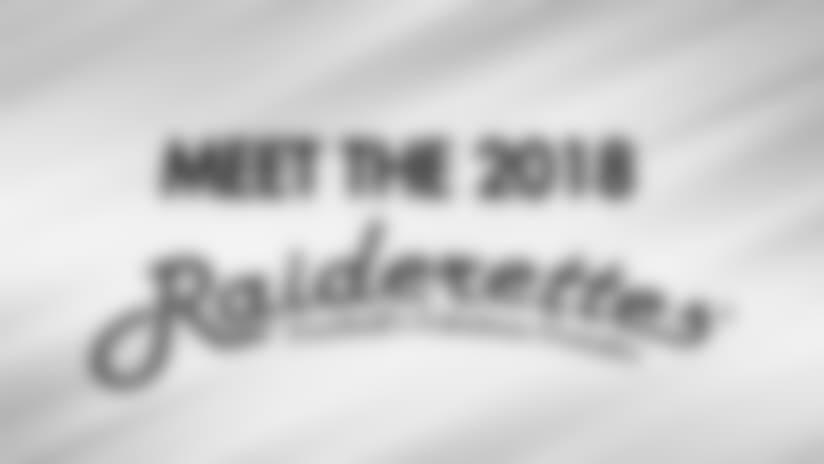 Meet The 2018 Raiderettes