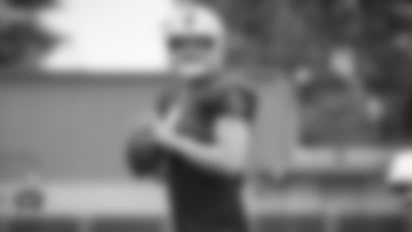 Training Camp: Under the helmet with Derek Carr