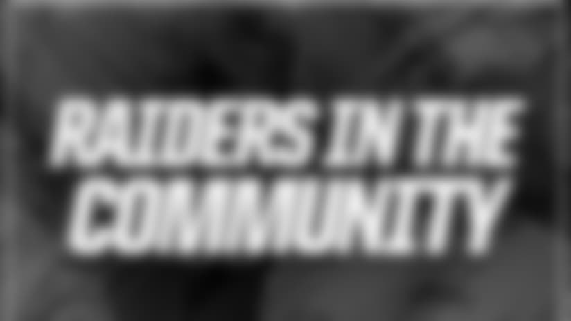 Raiders In The Community - 2017 Season
