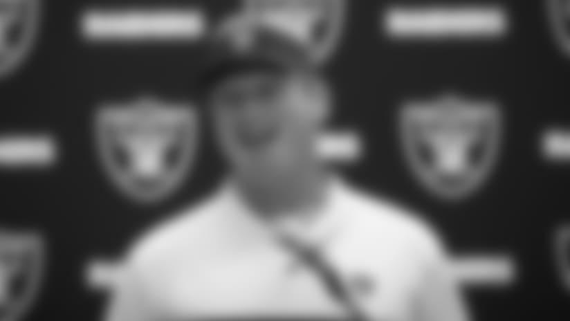 Coach Gruden postgame presser 8.10.18