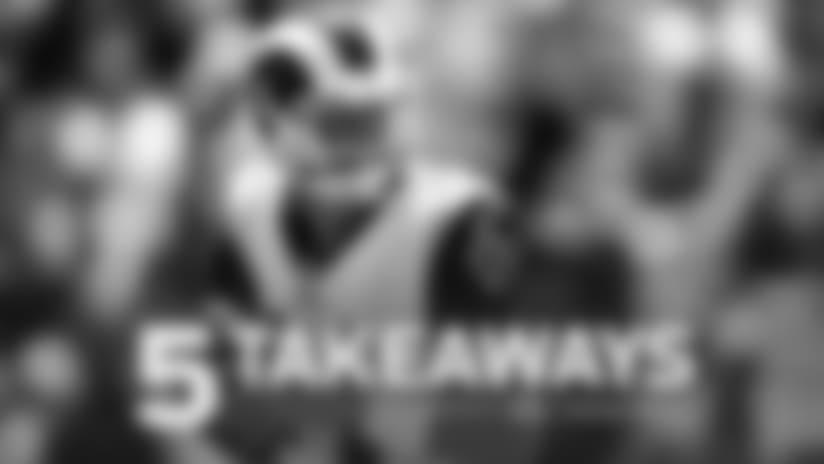 Five Takeaways: Rams Capitalize on Turnovers in Preseason Win over Raiders