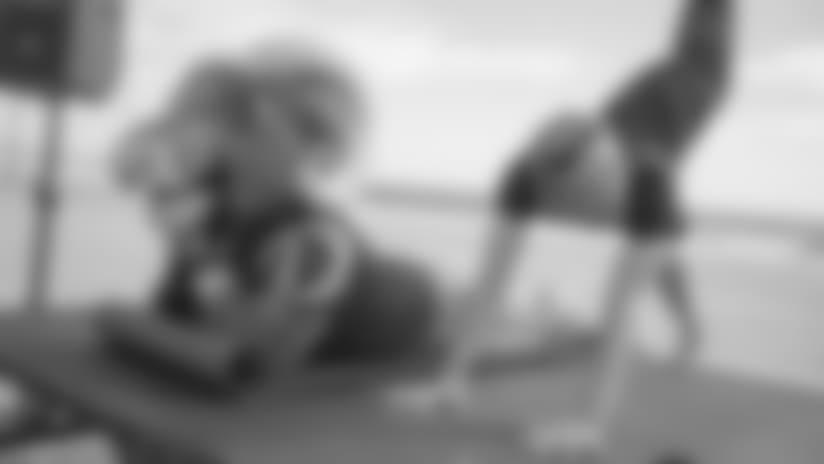 PHOTOS: Yoga on the Beach with 24 Hour Fitness