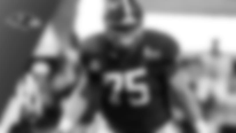 Baltimore Ravens select Alabama center Bradley Bozeman No. 215 in the 2018 NFL Draft