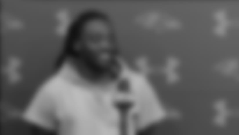 Alex Collins Hoping to Pick up Where He Left Off