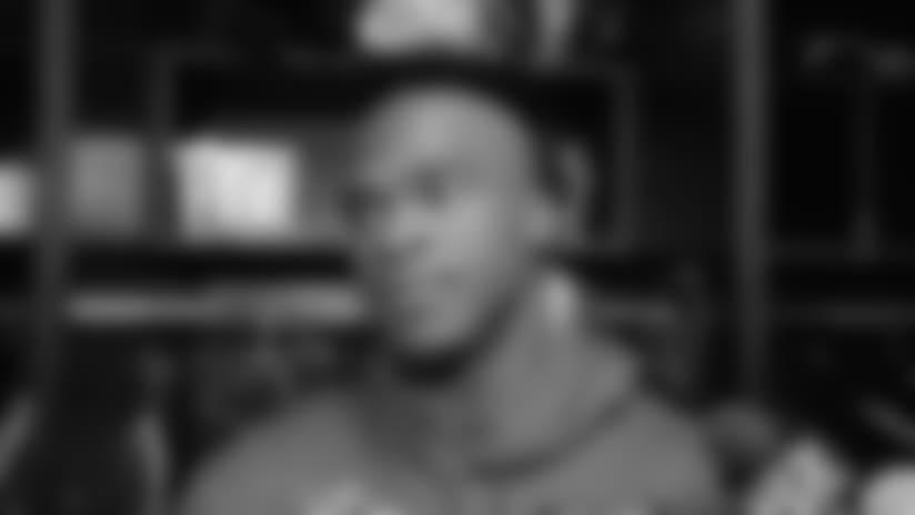 Locker Room: Breshad Perriman Focused on Improving for Next Season