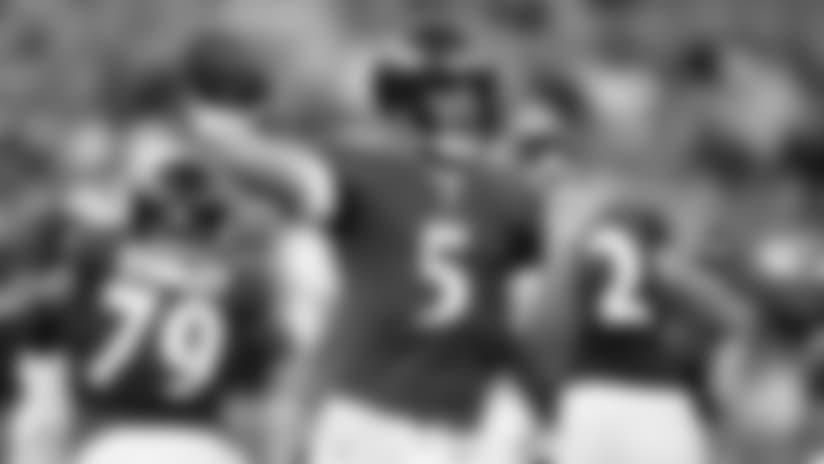 Joe Flacco, Ravens' First-Team Offense Keep Momentum Rolling