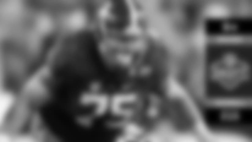 Round 6: Ravens Select C Bradley Bozeman at No. 215