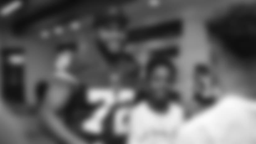 jk livin Careers in Sports Panel At Redskins Park