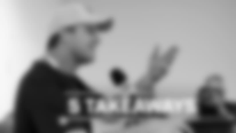 Five Takeaways: Jay Gruden's Training Camp Kickoff Presser