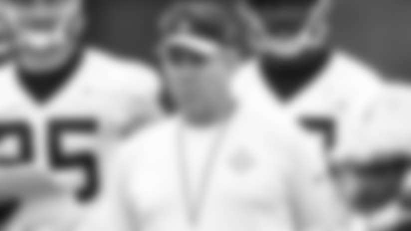 John DeShazier: High points from Saints OTA