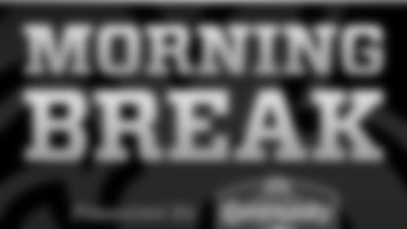 Saints Morning Break presented by Community Coffee for Friday, May 25