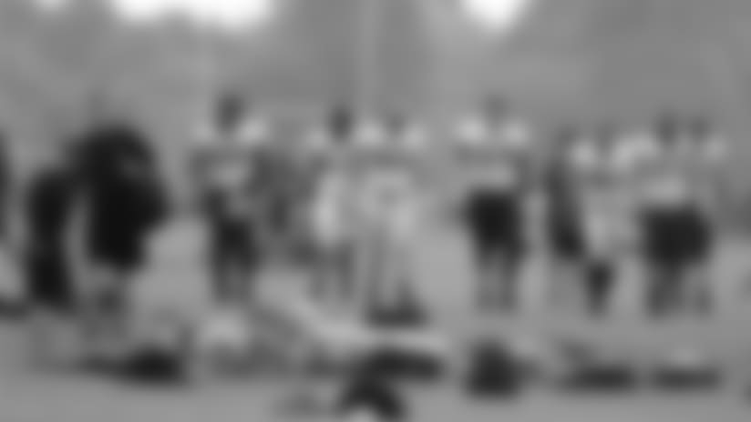 John DeShazier's New Orleans Saints practice report from London