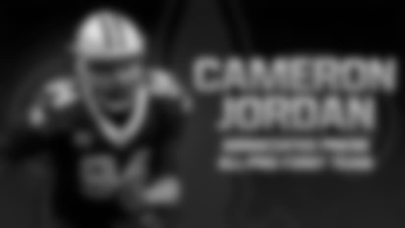Cam Jordan named first team All-Pro by Associated Press