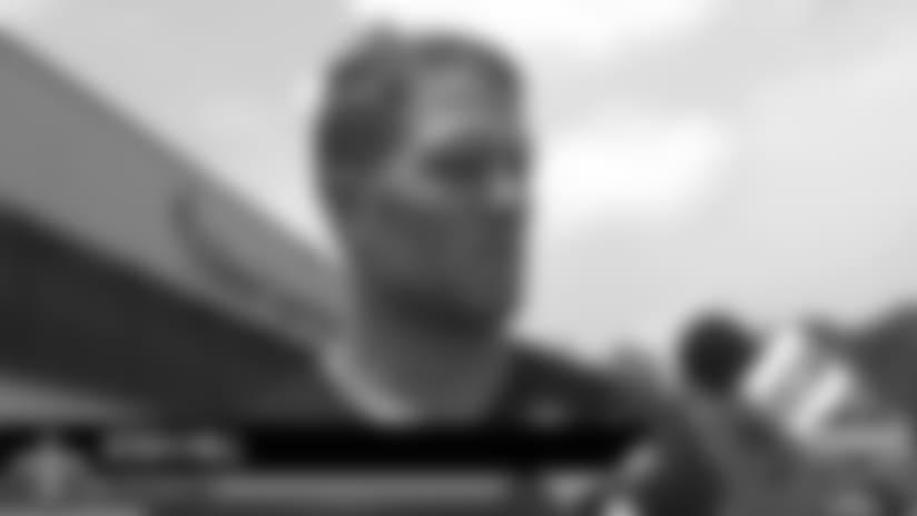 Josh Hill's Training Camp media availability - July 29
