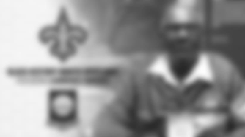 Saints Black History Month Spotlight: Lawrence Brooks