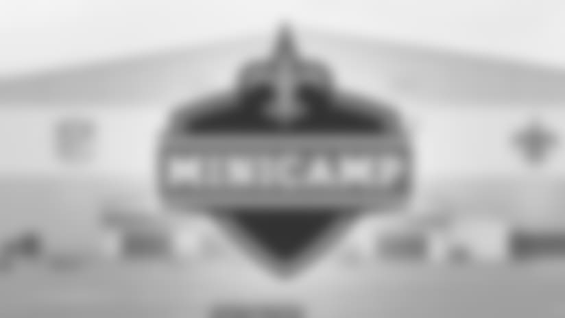 2017 Saints Minicamp Presented by Verizon Practice Schedule Released