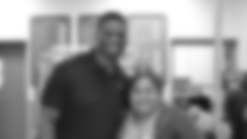 "Benjamin Watson and his foundation host ""The Big BENifet"" 2015"