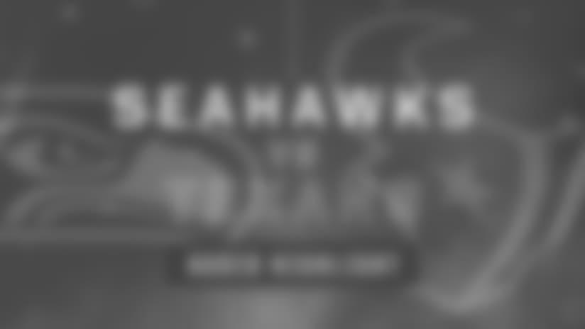 Seahawks vs Texans: Michael Bennett Sack