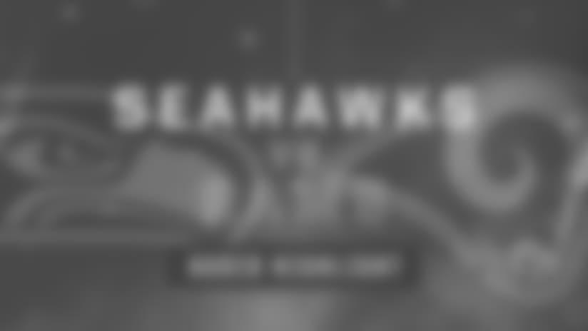 Seahawks vs Rams: Michael Wilhoite Interception