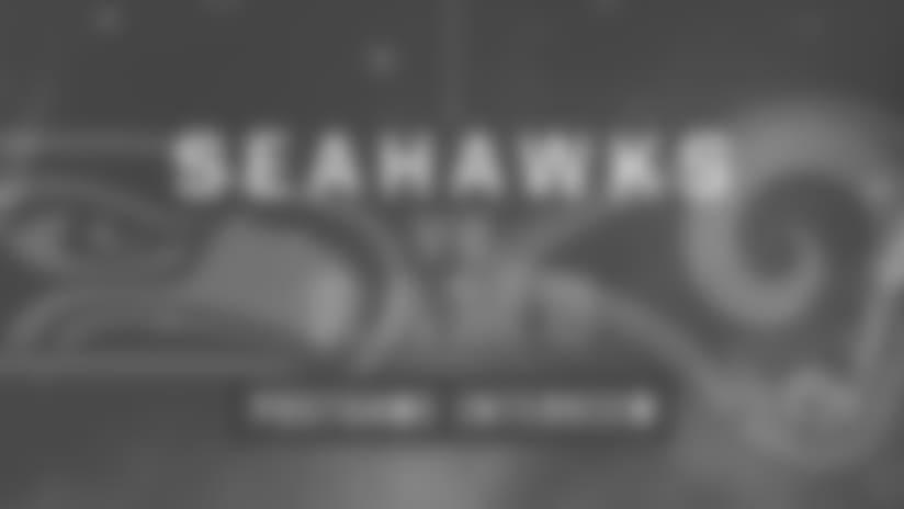 Seahawks vs Rams: Terrence Garvin Postgame Interview