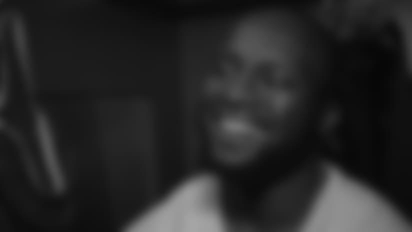 Locker Room Sound vs Chiefs: Odhiambo at Left Tackle