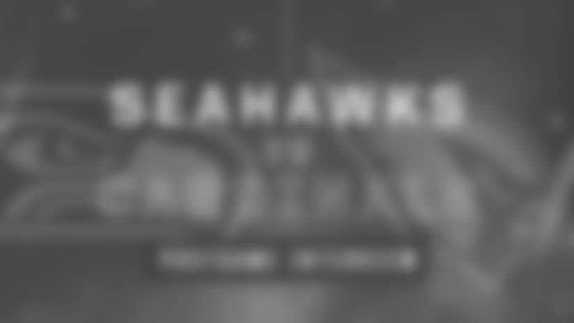 Seahawks vs Cardinals: Frank Clark Postgame Interview