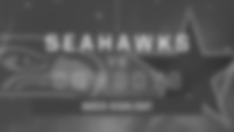 Seahawks at Cowboys: Justin Coleman Pick Six