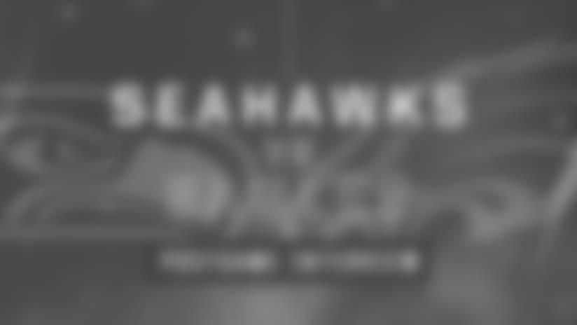 Seahawks vs Eagles: Mike Davis Postgame Interview