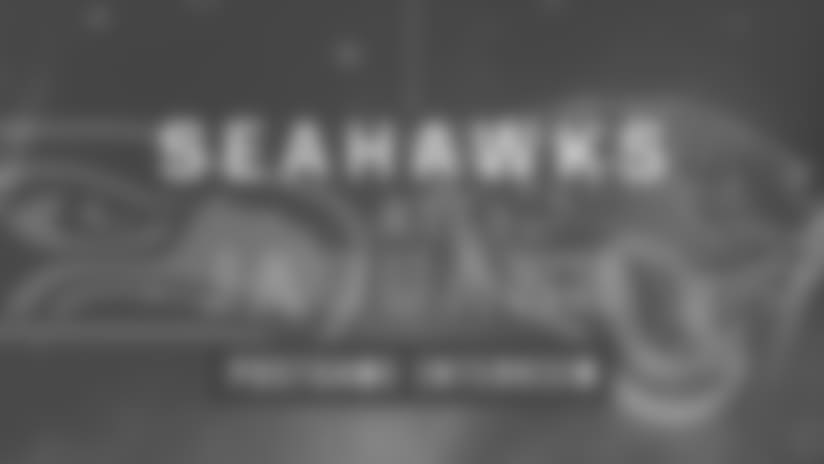 Seahawks at Jaguars: Michael Wilhoite Postgame Interview