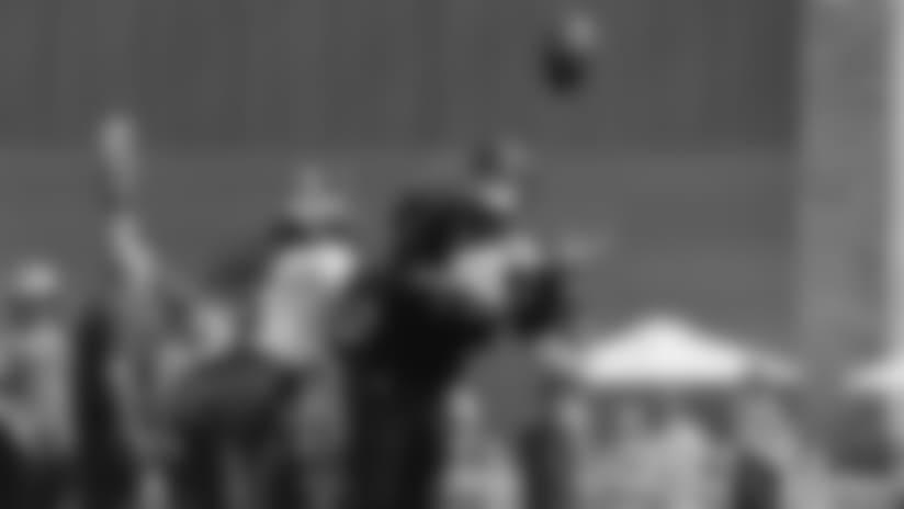 #SeahawksCamp Highlight: Jarron Brown Juggling Catch