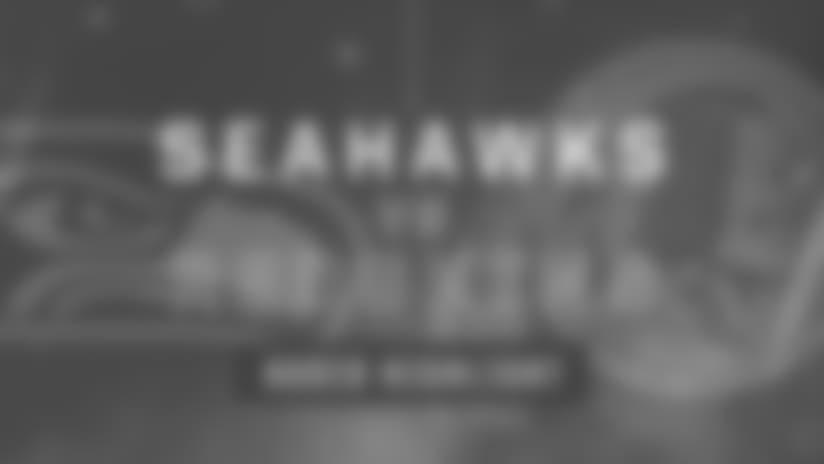 Seahawks vs Redskins: Dwight Freeney Sack