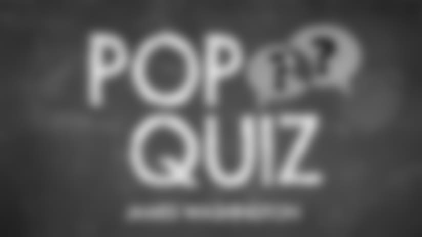 Pop Quiz: Washington