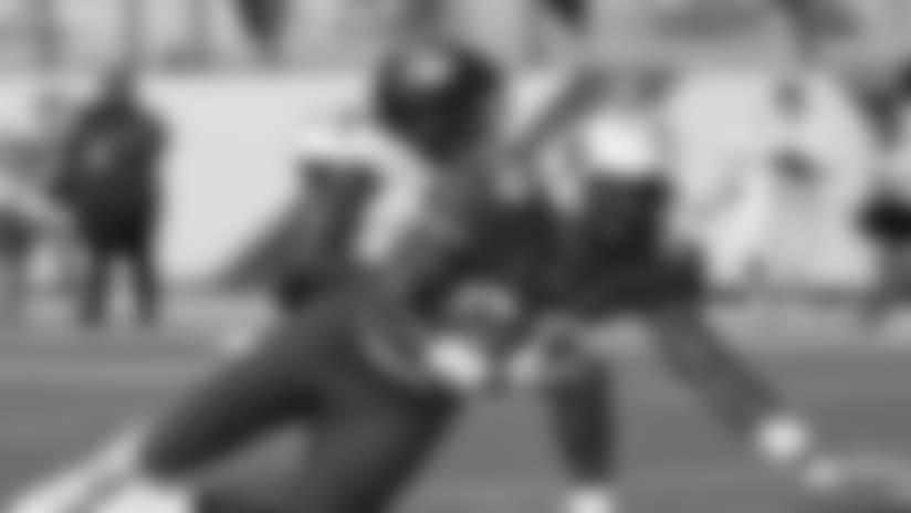 TE Jordan Akins: From MLB to the NFL