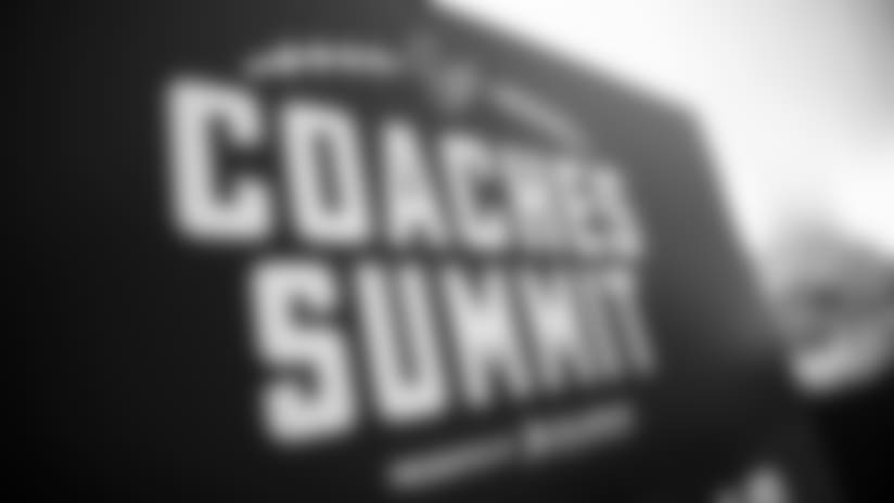 The Coaches Summit presented by Academy Sports and Outdoors is an opportunity for youth and high school coaches to learn the latest safety information in a classroom setting, followed by on-field drills and instructions for on proper tackling and blocking techniques.